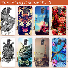 """For wileyfox swift 2 / swift 2 plus Case Cover Diy Painting Colored Owl Soft Tpu Case For Wileyfox Swift 2 plus 5.0"""" Cover Bags"""