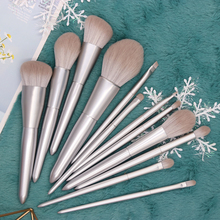 все цены на BBL 12 Piece Silver Makeup Brush Sets Powder Blush Foundation Precision Concealer Blending Buffing Highlighting Eye Shadow Brush