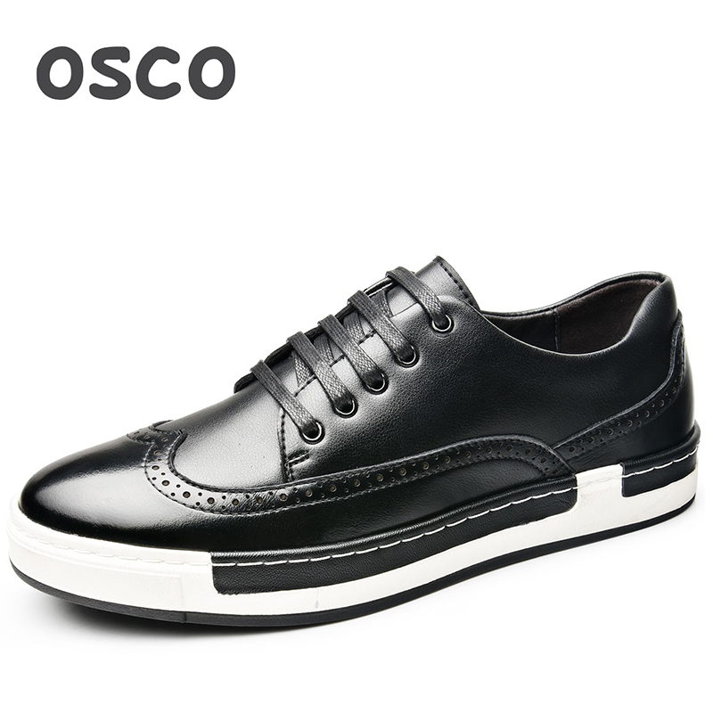 OSCO Factory Direct ALL SEASON New Men Shoes Fashion Men Sneakers COW LEATHER Shoes#A1516 all new x men volume 6