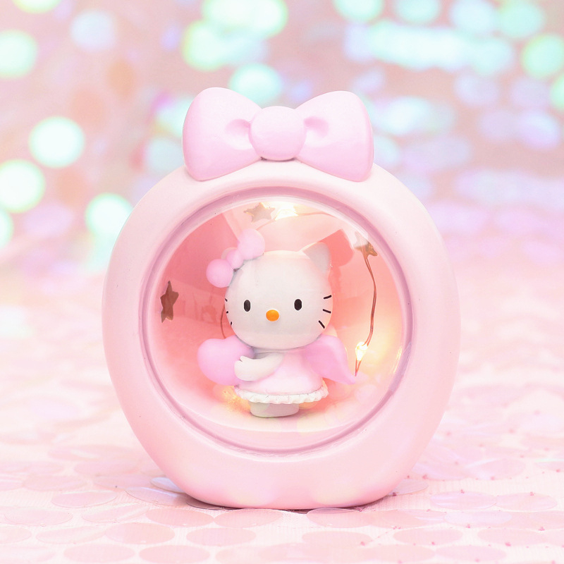 Nordic Cartoon Night Light Girls Room Decor Pink Unicorn Starlight Moon Lamp Illuminator Student Gift Night Lamp Luminaria