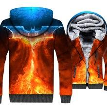 Batman 3D Hoodie 2019 Hot Sale Autumn Winter Hip Hop Mens Sweatshirt Thick Warm Coat Men Long Sleeve Jackets Casual Sportswear