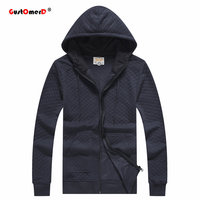 GustOmerD Hoodies Men Spring 100 Cotton Hip Hop Long Sleeve Solid Color Hooded Sweatshirt Mens Hoodie