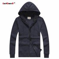 GustOmerD Hoodies Men Spring 100 Cotton Hip Hop Long Sleeve Solid Color Hooded Sweatshirt Mens Hoodie