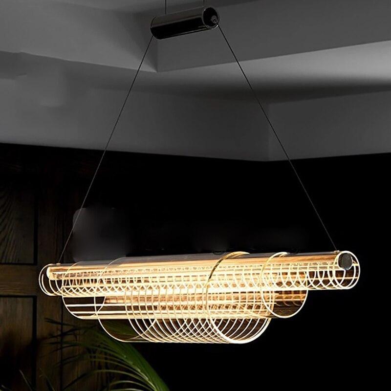 Pingente de Teto Lâmpadas moderno Pingente De Metal Luzes Pingente Sala de Jantar Iluminação Quarto Home Decor Hanging Lâmpada Luz