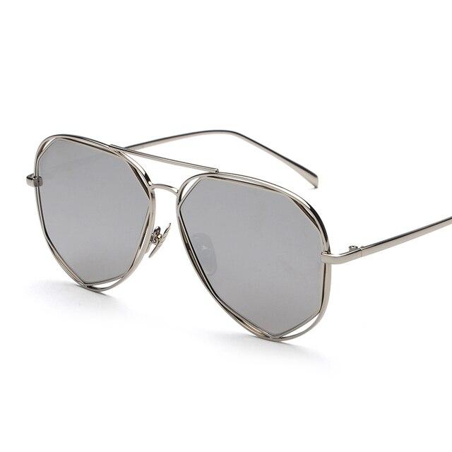 9332286eba0c Plane Lens Luxury Wrap Glasses Eyewear 2018 New Vintage Retro Fashion  Sunglasses Women Men Brand Designer