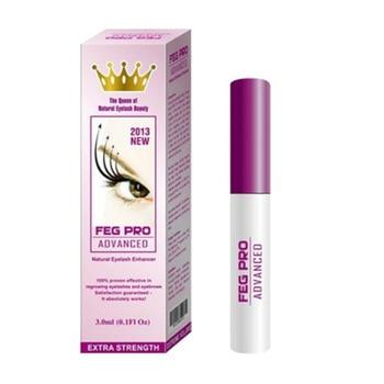 New FEG Eyelash Growth Pro Advanced Serum Powerful Makeup Eyelash Growth Booster Eyelash Treatments Serum Enhancer Eye Lash - Transparent