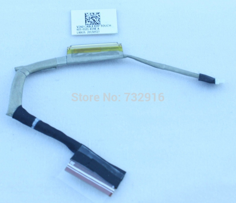 ФОТО Free shipping v260 LCD CABLE laptop LED LCD VGA Video Cable for VAIO SVP11 POR11 serials 603-0101-8198-A