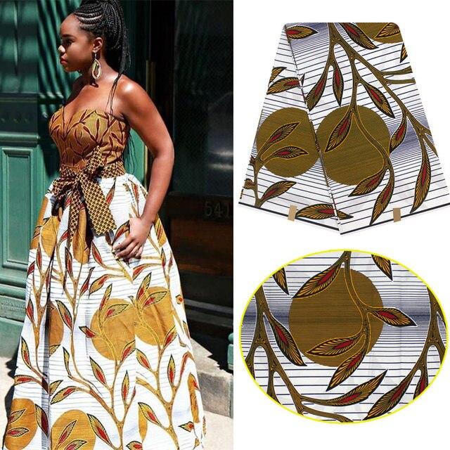 c74f264d0f1 Tissu pour robe coton tissu 2017 Pagne Africain Super Hollandais cire  africaine cire imprime tissu cire