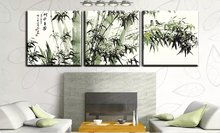 Large 3 pcs Frameless Pictures Oil Painting By Number on Canvas Home Decor Drawing by Numbers for Living Room Art China Bamboo