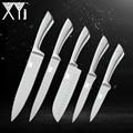 XYj 5 шт. набор кухонных ножей из нержавеющей стали с высокой твердостью 7Cr17mov кухонный комплект ножей шеф-повара