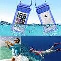 2016 da qualidade de hight pvc phone cases para iphone 6 6 s plus 5 5S se transparente saco do telefone bolsa capa à prova d' água