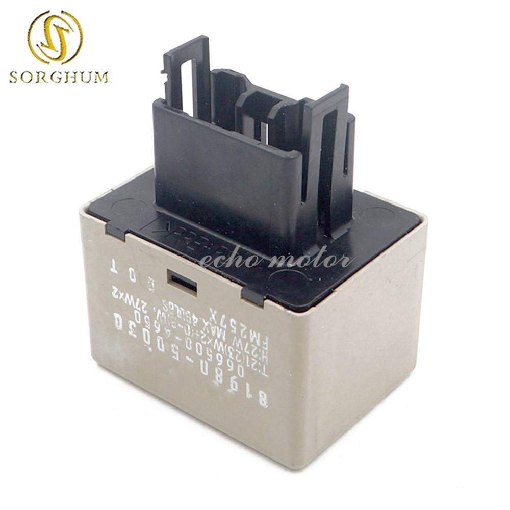 KIMISS 12V 8-Pin Adjustable Speed Electronic LED Flasher Assy Relay Replacing OE 81980-34020 81980-02030