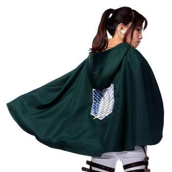 snowshine #4003 Shingeki no Kyojin Cloak Cape clothes cosplay Attack on Titan SMLXLXXL jeans con blazer mujer