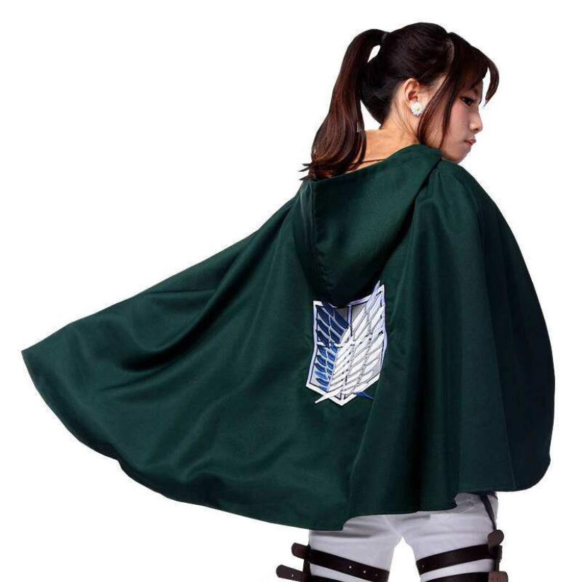 snowshine YLI Shingeki no Kyojin Cloak Cape clothes cosplay Attack on Titan S/M/L/XL/XXL