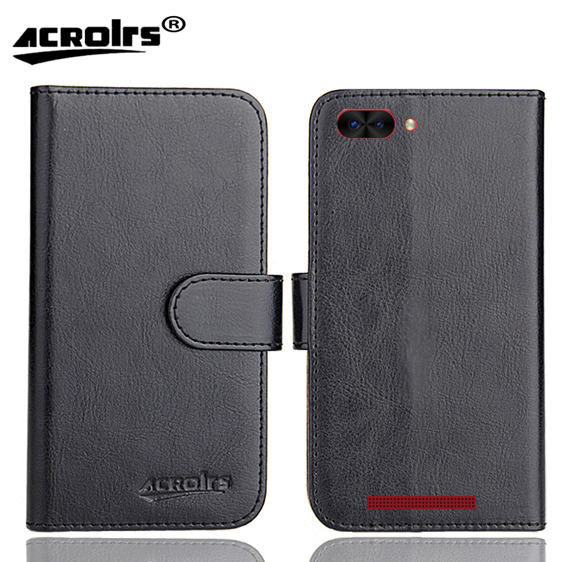 INOI kPhone Case 6 Colors Dedicated Soft Flip Leather Special Crazy Horse Phone Cover Cases Credit Card Wallet