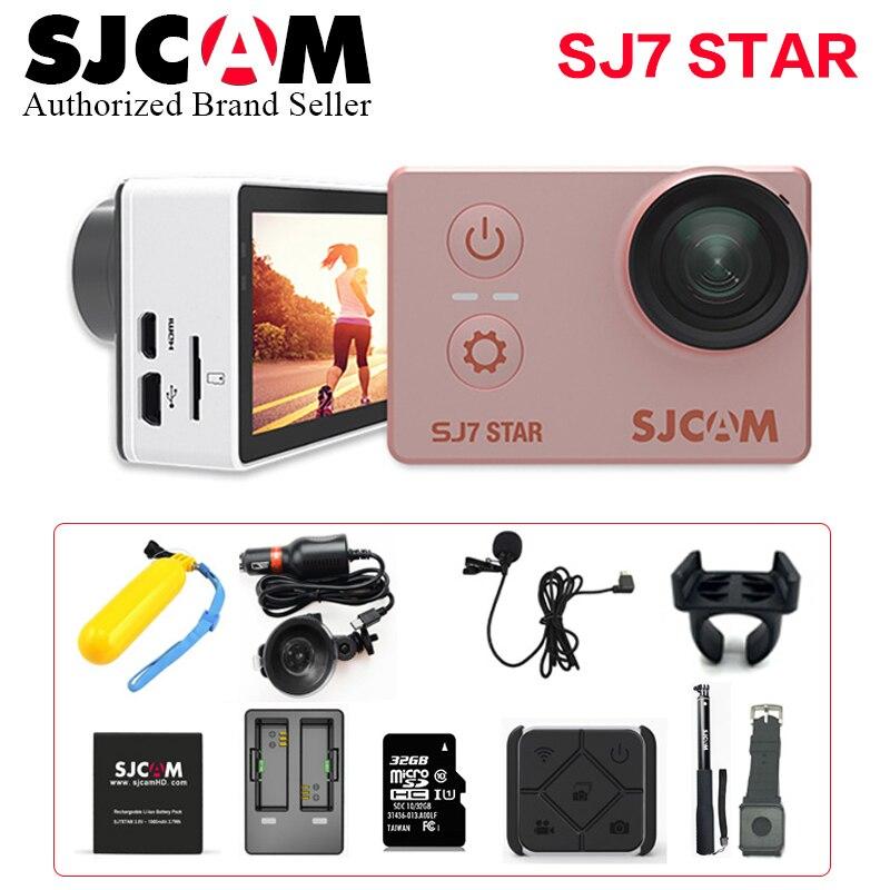 SJCAM SJ7 Star Wifi Action Camera 4K 30fps Gyro Touch Screen Ambarella A12S75 Sport Camcorder SJ 7 Better Go pro 4 Mini DV CAM