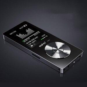 """Image 1 - New Metal 1.8 """"Giocatore di Musica Dello Schermo Portatile Lettore Audio Digitale di Marca Originale Lettore MP3 con FM Radio Voice Recorder"""