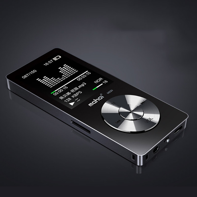 """New Metal 1.8 """"Giocatore di Musica Dello Schermo Portatile Lettore Audio Digitale di Marca Originale Lettore MP3 con FM Radio Voice Recorder"""