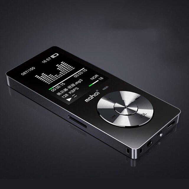 """Nieuwe Metal 1.8 """"Scherm Muziekspeler Draagbare Digitale Audio Speler Originele Merk Speler MP3 met FM Radio Voice Recorder"""