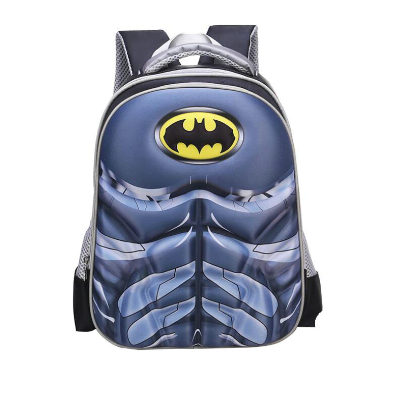 Batman Captain America Boy Girl Children Kindergarten School Bag Teenager Schoolbags Kids Student Backpacks