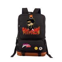 2019 anime JoJo Bizarre Adventure Backpack teenagers Shoulder bag School Bookbag for women men Laptop Bags Travel Rucksack