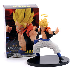 Image 3 - Anime Dragon Ball Z Gogeta Vegeta Son Goku Fusion Angel Aura Super Saiyan Chocolate Figuration Com Action Figure PVC DBZ Model