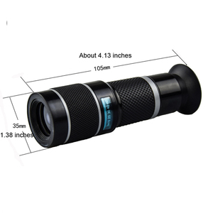 Image 2 - Universal 18X Telephoto Lens for Mobile Phones HD Telescope Head with Tripot & Clip for Cell Phones