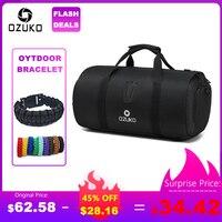 OZUKO многофункциональная большая емкость, мужская дорожная сумка, Водонепроницаемая спортивная сумка для путешествий, сумка для хранения ру...