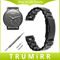 18mm Correa de Liberación Rápida Pin para Activite Withings/Acero/pop acero inoxidable banda smart watch correa enlace deportes pulsera