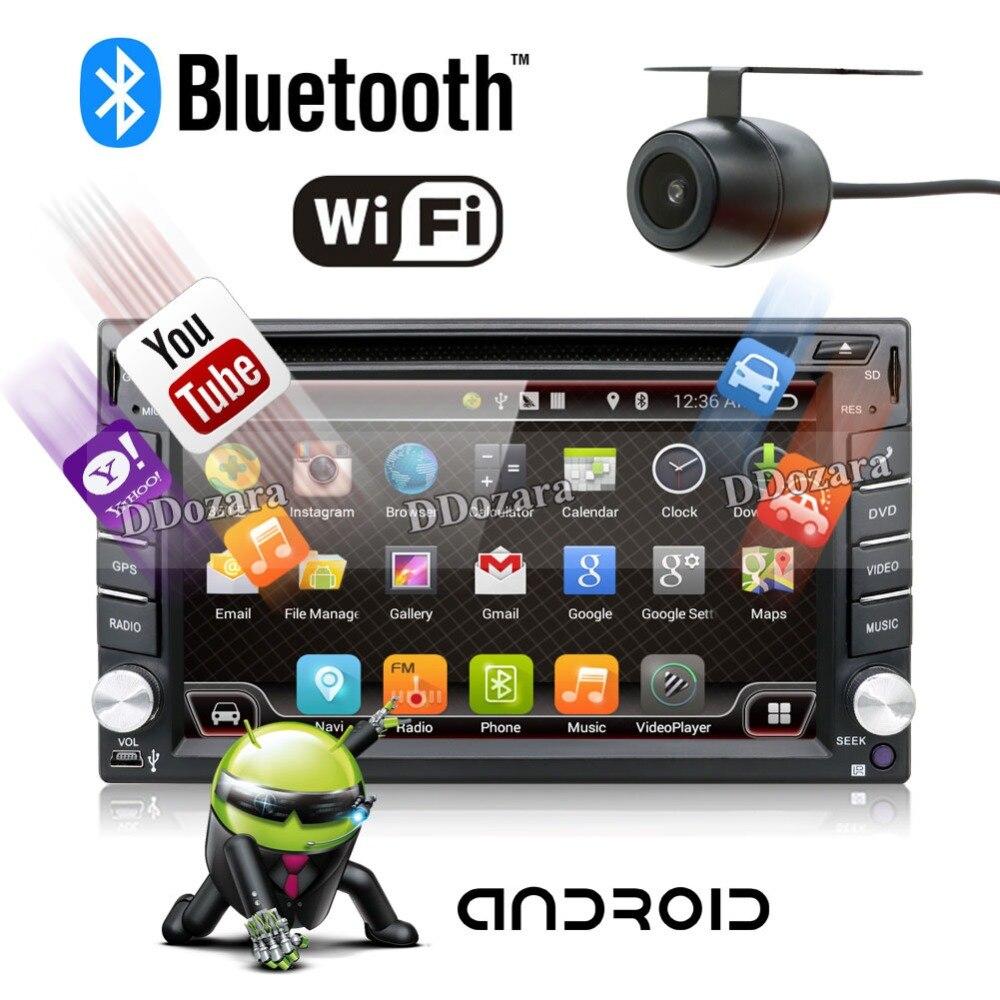 Quad Core radio font b car b font 2 din android 6 0 font b car