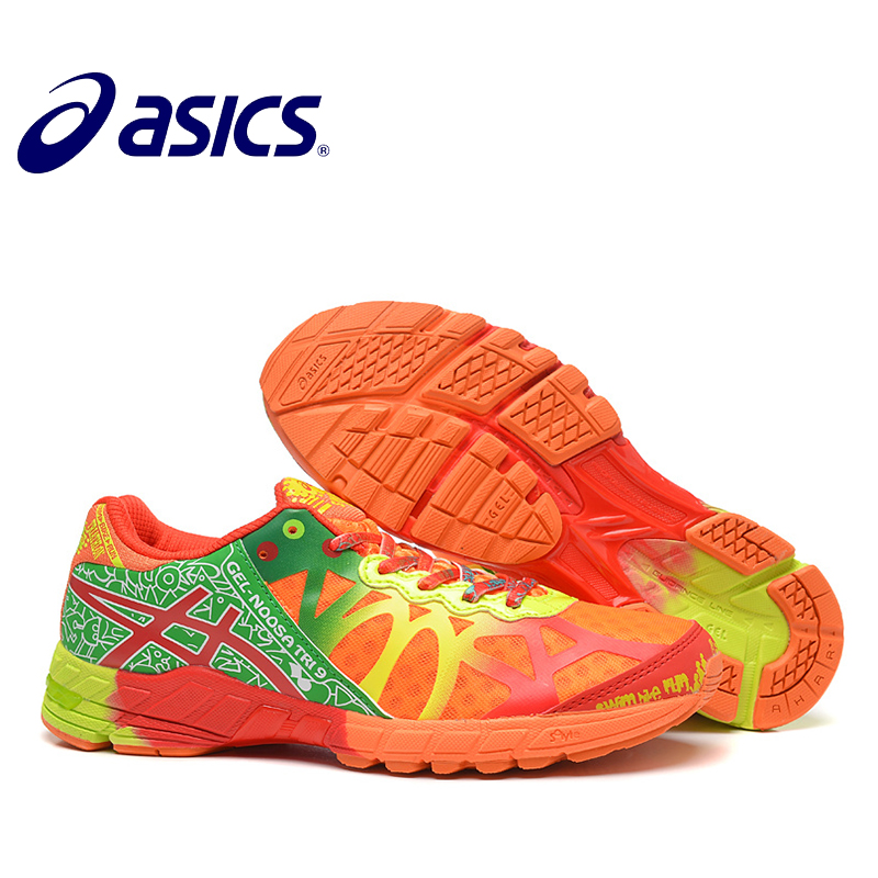 New Arrival Official Asics Gel-Noosa TRI9 Woman's Shoes Breathable Stable Running Shoes Outdoor Tennis Shoes Hongniu asics tiger gel lyte iii lc