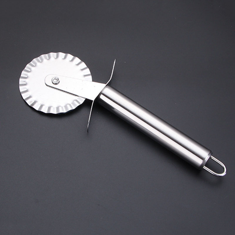 Stainless Steel Pizza Rugged Wheel Cutter Pizza Knife kitchen Tools Cut Pizza Tools Kitchen Accessorie Tools