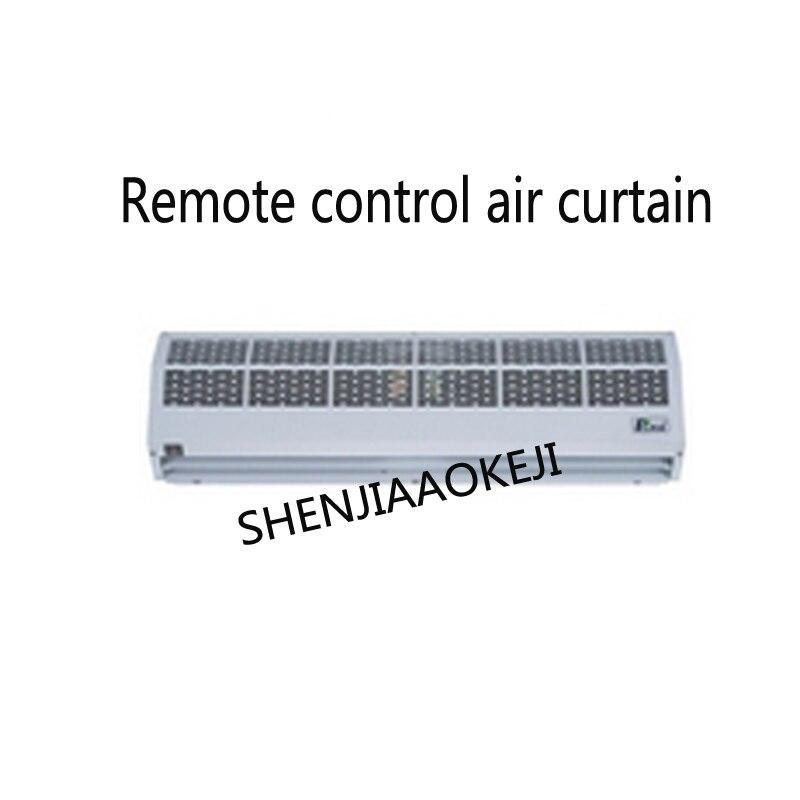 Verwarming air afstandsbediening air gordijn machine Stille FM 3009GY Voedsel display Houden de temperatuur display kast 220 V 6200 W