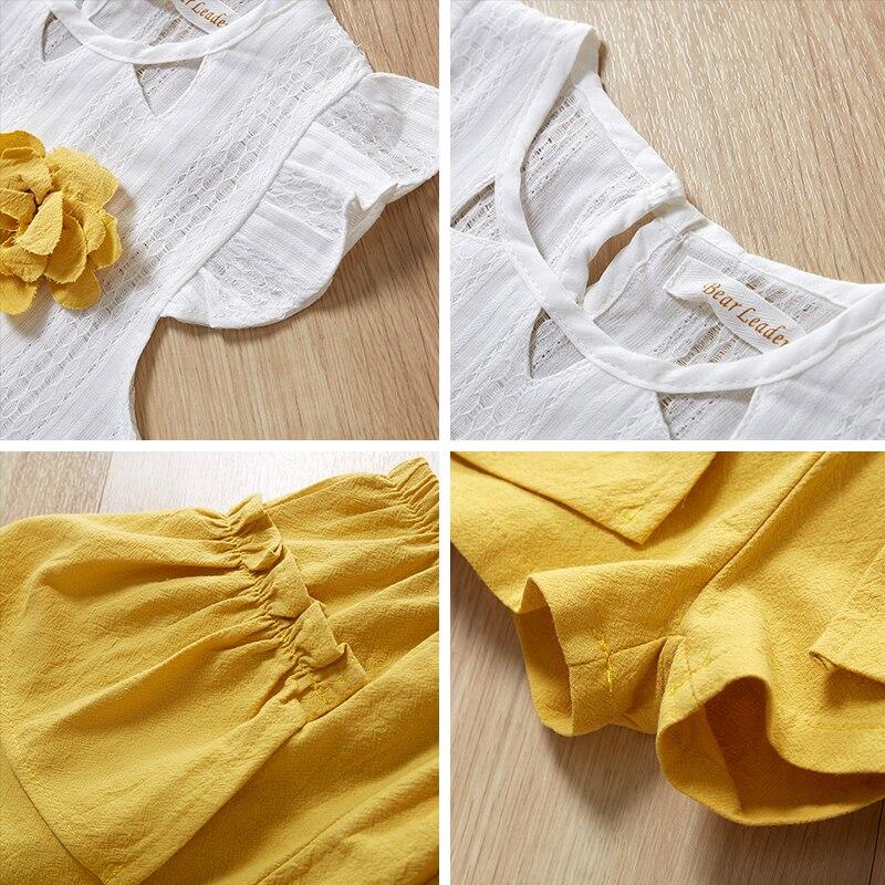 HTB1.j 1PbrpK1RjSZTEq6AWAVXa9 Menoea Girls Suits 2020 Summer Style Kids Beautiful Floral Flower Sleeve Children O-neck Clothing Shorts Suit 2Pcs Clothes