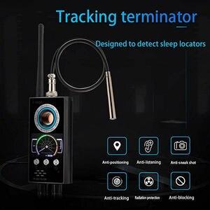 Image 4 - Anti Spy RF Detector Wireless Bug Detector Signal for Hidden Camera Laser Lens GSM Listening Device Finder Radar Radio Scanner