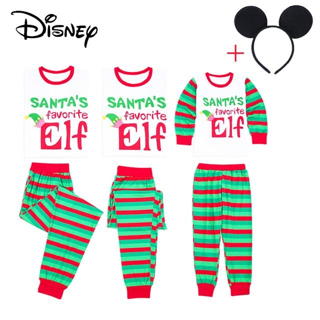 6de228f8ed Disney nuevo estilo 2 unidades conjunto de Navidad familia juego de Navidad  conjunto de pijamas de
