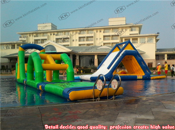 adult inflatable water obstacle course for sale inflatable floating obstacle racing game
