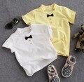 new 2016 summer boys bowknot short sleeve t shirt kids summer fashion t shirt boys casual clothing
