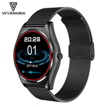 VESTMADRA N3 Smart Watch with Heart Rate Monit Men's Fitness Tracker Hours Pedometer Smartwatch Wearable Devices for iOS Android