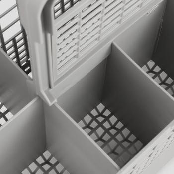 Zmywarka części zmywarka uniwersalna wielofunkcyjna zmywarka część sztućce wymiana kosz do przechowywania pudełko akcesoria tanie i dobre opinie CN (pochodzenie) Dishwasher Basket Dishwasher Cutlery Basket Universal Dishwasher Cutlery Basket lavavajillas mini Multipurpose Dishwasher Basket
