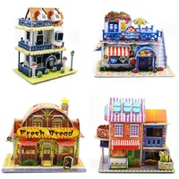 26 Model Toys For Dimensional Jigsaw Puzzle 3d Puzzles For Adults Castle Paper Model Toys Villa