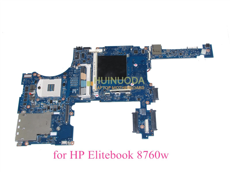 652509-001 For hp elitebook 8760W laptop motherboard QM67 With graphics slot DDR3 17.3'' for hp g62 g72 laptop motherboard with graphics 615848 001 01013y000 388 g