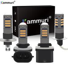 KAMMURI H1 H3 LED h27w2 h27w/2 LED Bulb h21 h27w 880 881 h27w1 h27w/1 Car led fog lights lamp car DRL daytime running lights 12V