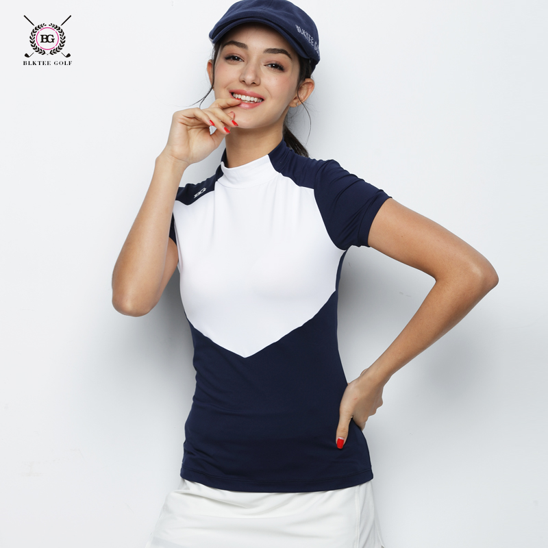 2018 BG New Arrival polo shirt women Anti-Wrinkle Women Golf Polo Shirt Quick Dry Short Sleeve Ladies Outdoor Sport T-Shirts polo t shirt galvanni футболки спортивные
