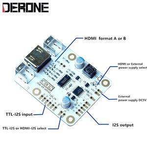 Image 4 - HDMI إلى I2S مجلس واجهة HDMI إلى وحدة IIS TTL i2s التبديل ل dac ES9018 9028 9038pro شحن مجاني