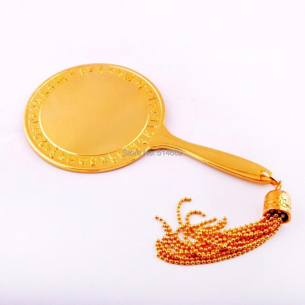 Feng Shui grand argent miroir magique pour le 2/7 Hotu W0998