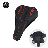 PCycling Bike Saddle Thick Sponge Gel Bicycle Saddle Cover Cycling Seat Comfortable Cushion Soft Seat Cover