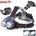 New 4000LM 2x  XM-L T6 LED Headlamp Headlight 2 T6 Head Light Torch Lamp Lantern linternas frontales cabeza  ,Wholesale