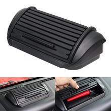 New Black ABS Car Dashboard Console Storage Box Holder Ticket Card Sundries Case For Jeep Wrangler & Unlimited JK 2011 - Up