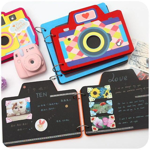 creative cute scrapbooking diy photo album baby scrapbook album